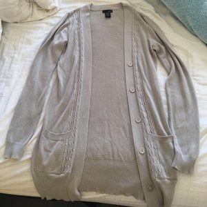 Sweaters - Ivory cardigan